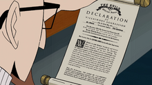 Dr. Venture reads the Declaration of Villainous Aggression.png