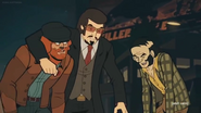 Dr z, shrill specter and scary nilsson