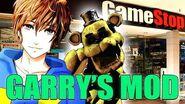 GOLDEN FREDDY VISITS GAMESTOP!! - Gmod Golden Freddy Mod