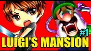 Let's Play Luigi's Mansion with HomelessGoomba Ep