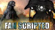 GODZILLA VERSUS A TRIPOD!! Fan Scripted Challenge - Episode 4-0