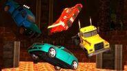 THE FLOOR IS LAVA CAR CHALLENGE!