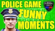 ROOKIE COP FUNNY MOMENTS! - Flashing Lights Multiplayer Gameplay - Police Emergency Services Sim