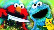 SESAME STREET MOVIE! - Gmod Cookie Monster & Elmo Mods + Pikachu (Siblings Play Garry's Mod Sandbox)