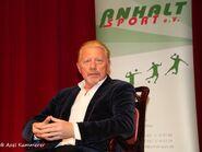Boris Becker in Dessau