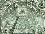 Pyramide auf dem Dollarschein