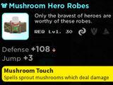Mushroom Hero Robes