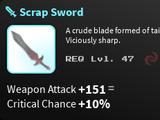 Scrap Sword