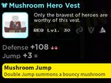 Mushroom Hero Vest