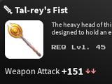 Tal-rey's Fist