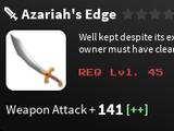 Azariah's Edge