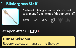 Blistergrass Staff