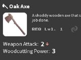 Oak Axe