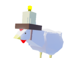 Candle Chicken Pet