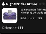 Nightstrider Armor