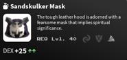 Sandskulker Mask