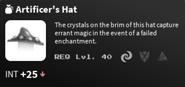 Artificers hat