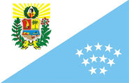 Flag of Sucre State (11 Stars)