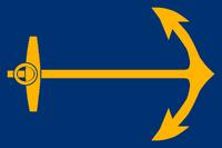 Proposal Flag of Rhode Island blue