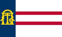 1906–1920 Georgia Flag