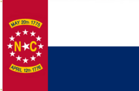 North Carolina Flag Proposal No. 15b Designed By Stephen Richard Barlow 15 MAY 2015 at 0916 HRS CST.