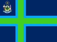 Maine State Flag Proposal No 7 Designed By Stephen Richard Barlow 27 OCT 2014 at 0909hrs cst