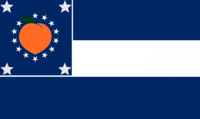 Georgia State Flag Proposal No 18 Designed By Stephen Richard Barlow 28 AuG 2014 at 0912hrs cst