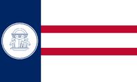 1920-1956 Georgia Flag