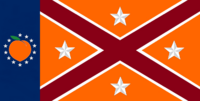 Georgia State Flag Proposal No 20f Designed By Stephen Richard Barlow 24 NOV 2014 at 1334 hrs cst