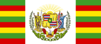 Hawaii State Flag Proposal No 6 Designed By Stephen Richard Barlow 20 OCT 2014 at 0919hrs cst