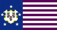 Connecticute State Flag Proposal No 2 Designed By Stephen Richard Barlow 15 AuG 2014 at 1503hrs cst
