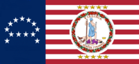 Virginia State Flag Proposal No 19 Designed By Stephen Richard Barlow 24 SEP 2014 at 1010hrs cst