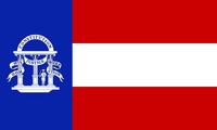 Georgia State Flag Proposal No 11 Designed By Stephen Richard Barlow 25 AuG 2014