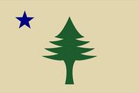 1901 Maine Flag