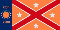 Georgia State Flag Proposal No 20g Designed By Stephen Richard Barlow 25 NOV 2014 at 0605 hrs cst