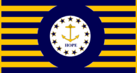 Rhode Island State Flag Proposal No 10 Designed By Stephen Richard Barlow 20 AuG 2014 at 1626hrs cst