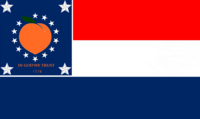 Georgia State Flag Proposal No 25 Designed By Stephen Richard Barlow 28 AuG 2014 at 1030hrs cst