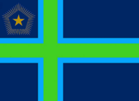 Maine State Flag Proposal No 4 Designed By Stephen Richard Barlow 27 OCT 2014 at 0211hrs cst
