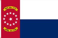 North Carolina Flag Proposal No. 16 Designed By Stephen Richard Barlow 17 MAY 2015 at 0650 HRS CST.