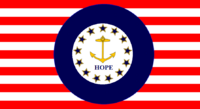Rhode Island State Flag Proposal No 2 Designed By Stephen Richard Barlow 14 AuG 2014 at 1414hrs cst