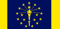 Indiana State Flag Proposal No 2 Designed By Stephen Richard Barlow 18 AuG 2014 at 1315hrs cst