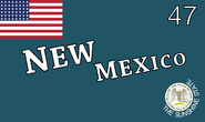 Flag of New Mexico (1912-1925)