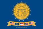 Georgia State Flag 2001-2003
