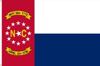 North Carolina Flag Proposal No. 16b Designed By Stephen Richard Barlow 17 MAY 2015 at 0653 HRS CST.