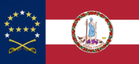 Virginia State Flag Proposal No 25b Designed By Stephen Richard Barlow 20 NOV 2014 at 0607 hrs cst
