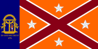 Georgia State Flag Proposal No 20a Designed By Stephen Richard Barlow 24 NOV 2014 at 1100 hrs cst
