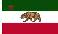 California Republic Flag Remix of an AlternateFlags Design Remixed By Stephen Richard Barlow on 12 FEB 2015 at 1315 HRS CST