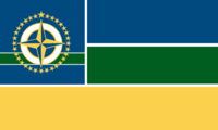 Minnesota State Flag 32 Star Proposal No 8 By Stephen Richard Barlow 02 NOV 2014 at 1059hrs cst