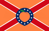 Georgia State Flag Proposal No 42a Designed By Stephen Richard Barlow 25 NOV 2014 at 1136 hrs cst