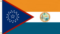 Florida State Flag Proposal No. 6b Designed By Stephen Richard Barlow 14 JAN 2015 at 1300 HRS CST.